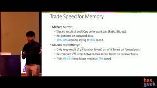 Apache MXNet: a highly memory efficient deep learning framework.