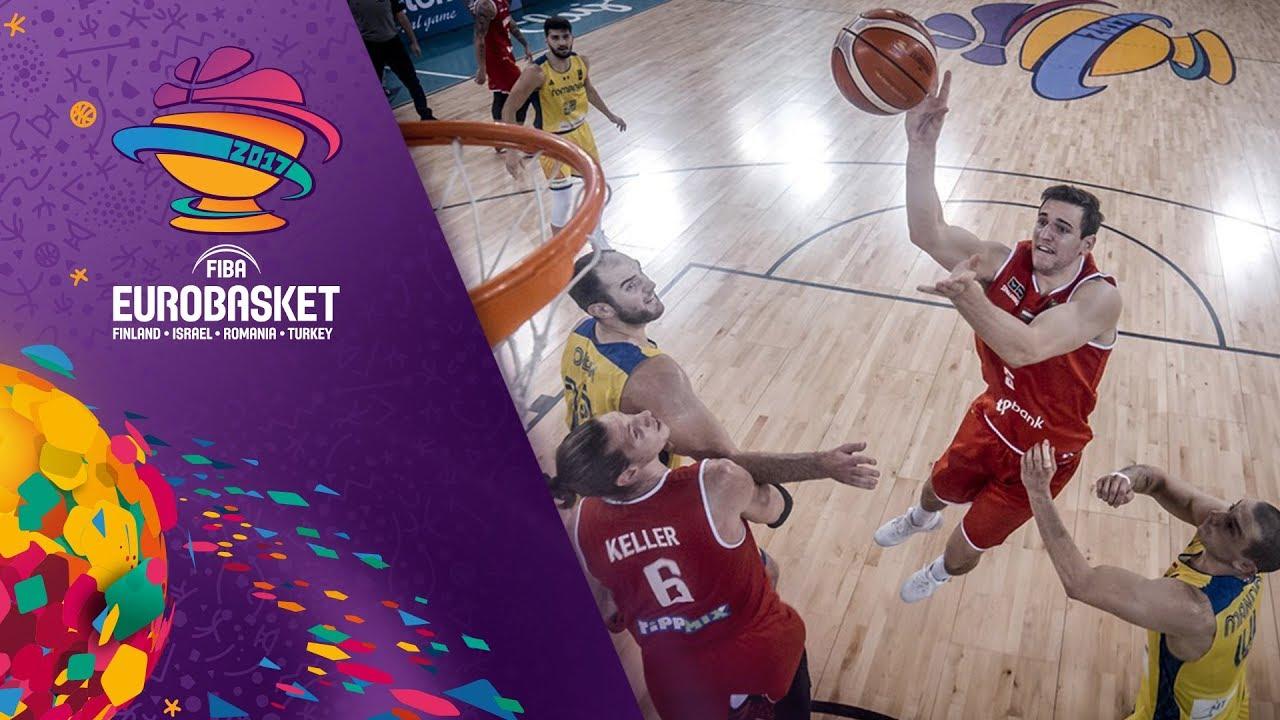 Romania v Hungary - Full Game - FIBA EuroBasket 2017