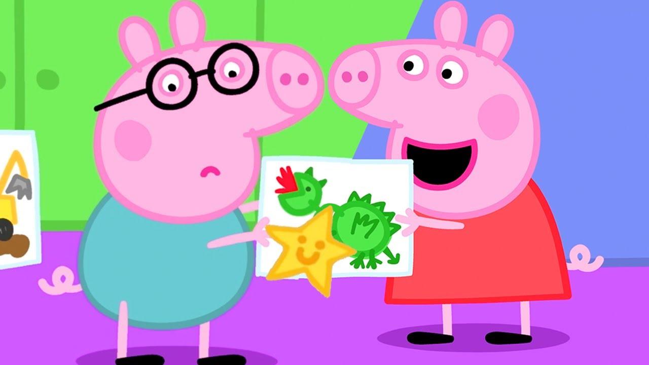 Peppa Pig en Español Episodios completos | La Estrella De La Guarderia | Pepa la cerdita
