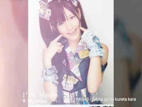 AKB48 - Anata ga ite kureta kara ( Mayuyu )