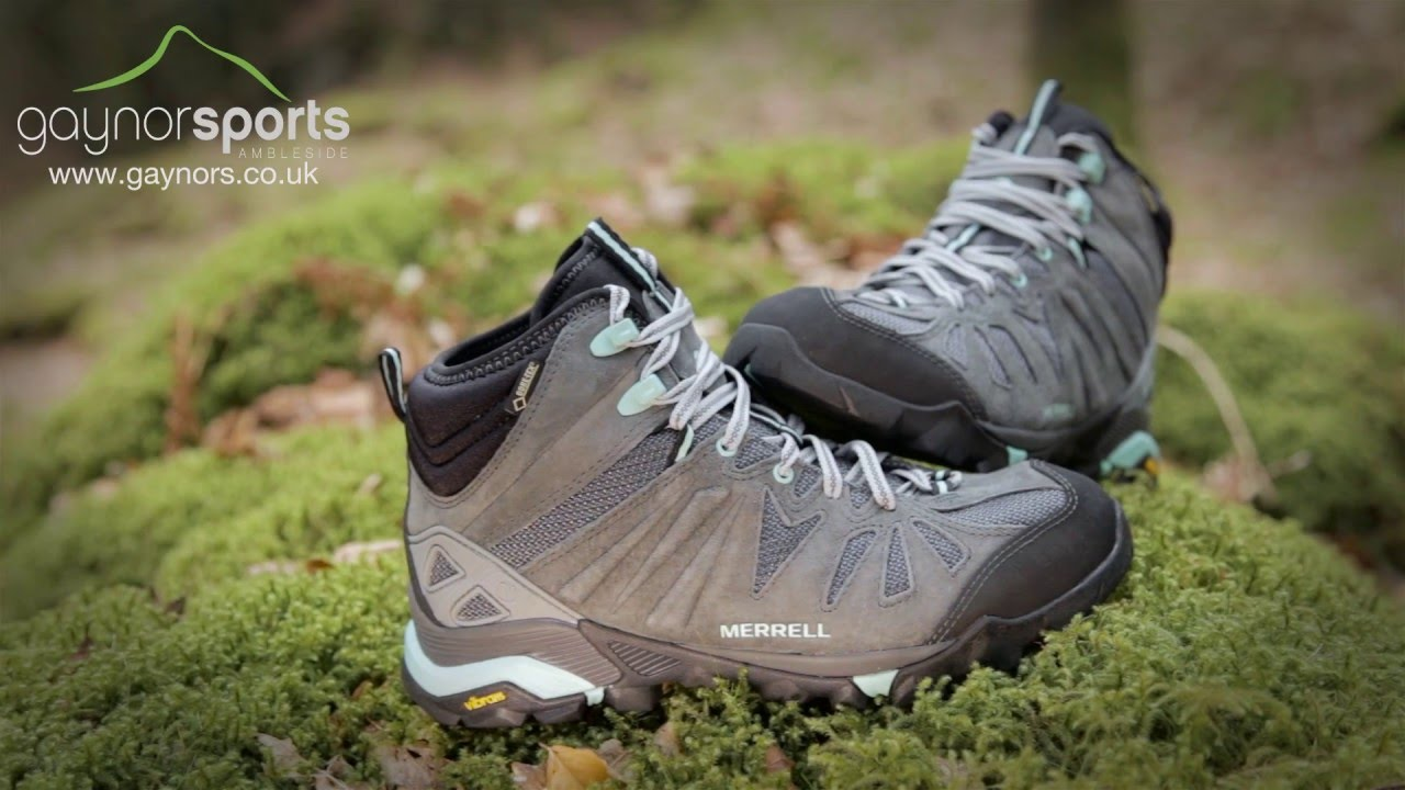 Merrell Women's Capra Mid Walking Boot. www.gaynors.co.uk