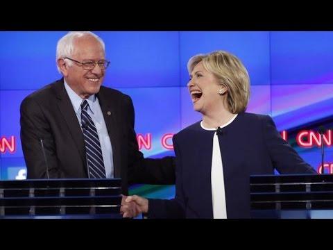Clinton Embraces Bernie Sanders' College Plan