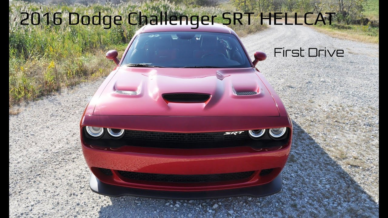 HD Drive Review Dodge Challenger SRT HELLCAT YouTube - Epic stunt driving dodge challenger
