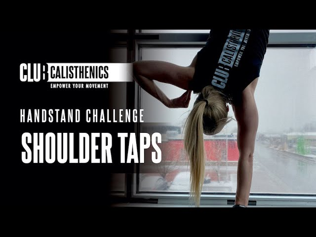 ClubCal Handstand Challenge - DAY 14 - Shoulder Taps