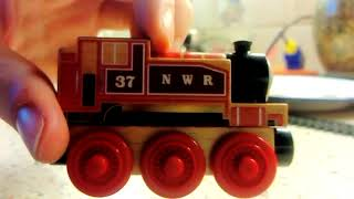 Thomas And Friends Wood Rosie Unboxing And Close Up