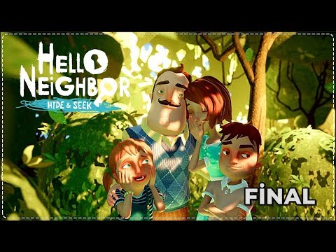 WILSON KÖTÜ BİRİ DEĞİL! ACI SON | Hello Neighbor Hide & Seek