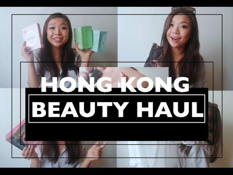 Hong Kong Beauty Haul | Steph Leung