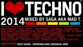 I Love Techno 2014 (mixed by Saga aka Mad T.)