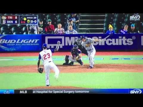 Tri-City ValleyCats Stephen Wrenn Home Run 6/21/16