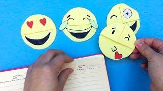 DIY Emoji Bookmark----Paper Crafts