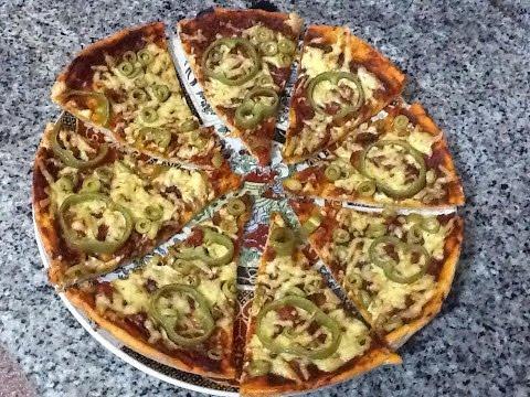 صورة  طريقة عمل البيتزا اسهل طريقة عمل البيتزا عجينة وحشوة في المنزل وصفة سهلة, قتصادية و سريعة  Pizza طريقة عمل البيتزا من يوتيوب