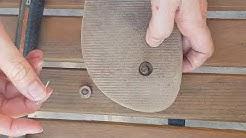 Comment réparer une tong d'une façon très solide ? How to repair flip flop ?