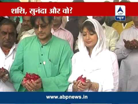 Controversy on twitter: Shashi Tharoor, wife Sunanda Pushkar and Pak journalist