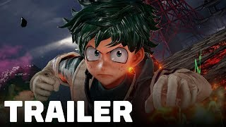 Jump Force - Deku and Asta Gameplay Trailer (My Hero Academia & Black Clover)
