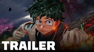 Jump Force - Deku and Asta Gameplay Trailer (My Hero Academia & Black Clover)