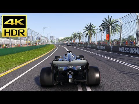 [4K HDR] F1 2019 - (MERCEDES) Australian Grand Prix Gameplay (PS4 Pro) @ ᵁᴴᴰ 60ᶠᵖˢ ✔