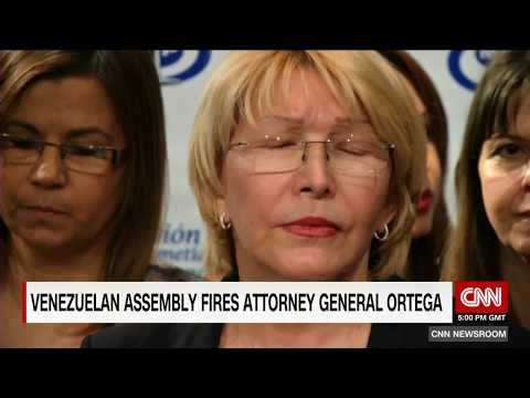 Venezuela Top Prosecutor removed from office