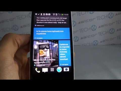 HTC Desire 500 okostelefon Android bemutató videó | Tech2.hu