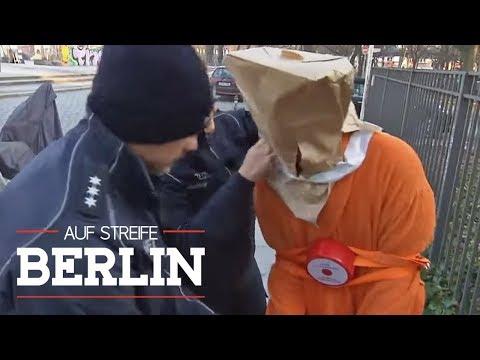 Albtraum am Morgen: Gefesselt und entführt beim Zeitung holen | Auf Streife - Berlin | SAT.1 TV