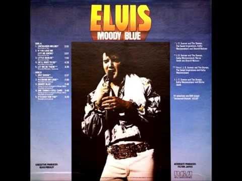 Moody Blue , Elvis Presley , 1977 Vinyl