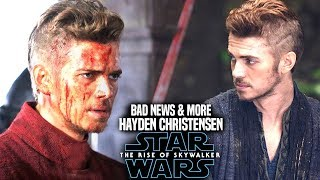 The Rise Of Skywalker Hayden Christensen Bad News Revealed! (Star Wars Episode 9)