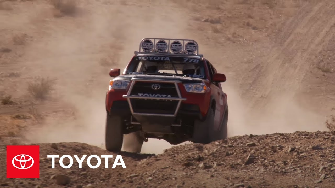 From Rubicon to Baja: Off-Road Features with the 4Runner — Toyota Racing | Toyota