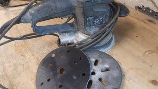 Восстановить подошву 150 мм за 5 минут bosch gex 150 ac
