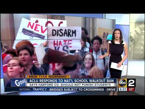 ACLU: Let students participate in school walkout