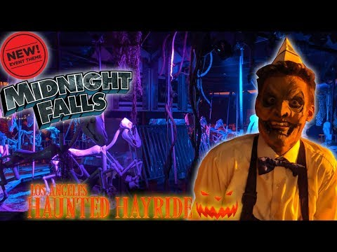 Our Spooktacular Night at Los Angeles Haunted Hayride 2019! | NEW Mazes, Story, and Monsters!