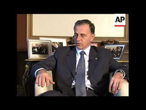 Interview with opposition presidential candidate Mircea Geoana