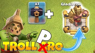 "UNLOCKING The GLADIATOR!! ""Clash Of Clans"" Troll Bro Pro"