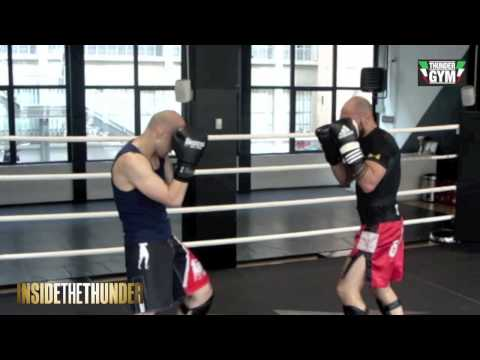 Sparring In Thunder Gym Milano - Behind Inside The Thunder