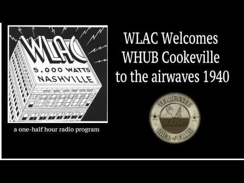 WLAC Welcomes WHUB Cookeville 1940