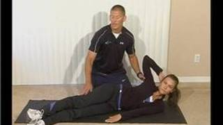 In-Home Abdominal Exercises : Oblique V-ups in Abdominal Exercises