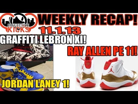 CollectiveKicks Weekly Recap 11.1.13  Graffiti Lebron XI d283e72c91
