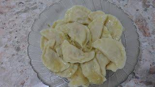 Вкусные вареники с капустой ( квашенной)