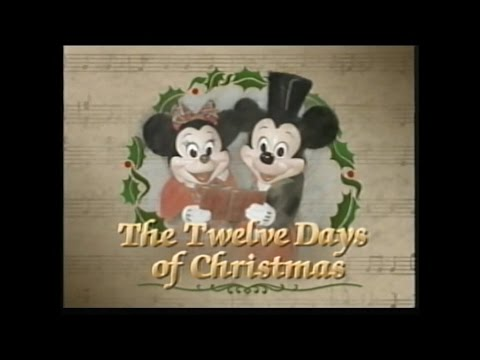 Disney - Twelve Days Of Christmas