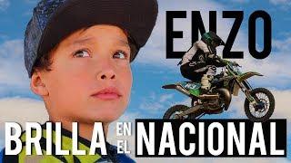 ¡Con mucho FLOW! Enzo Badenas puso el brillo en la tercera prueba del Nacional de Motocross