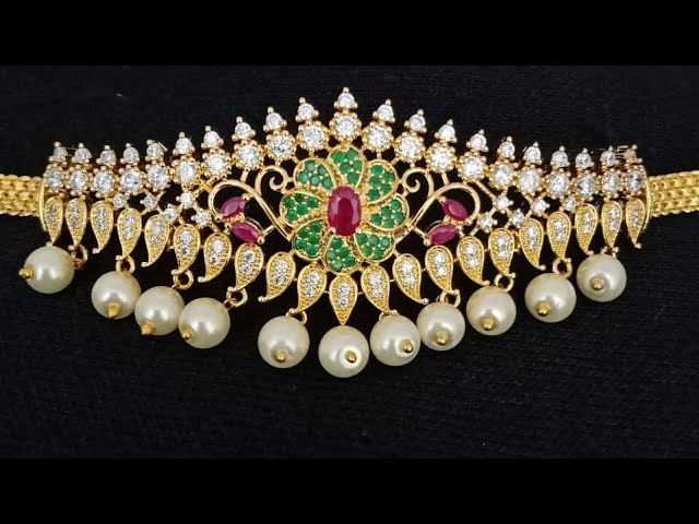 Latest One Gram Bajuband Designs / Bridal Jewellery Collections With What's app Number