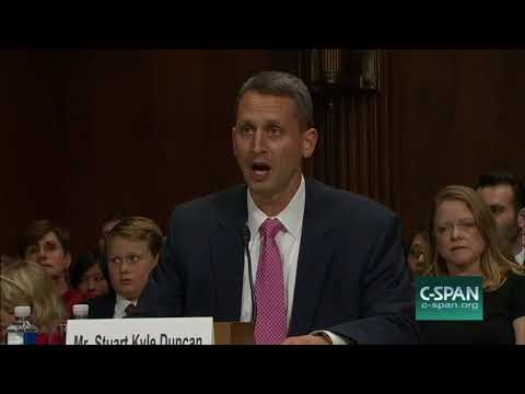 Kyle Duncans opening statement to Judiciary Committee