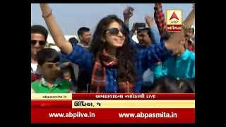Singer Kinjal Dave Celebrate Uattarayan In Ahmedabad With Dance, Watch Video