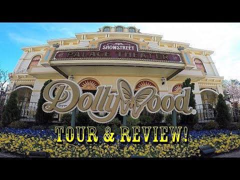Dollywood Full Park Tour, Review, POVs, Rides, Food, & More!