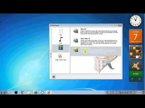 Hướng dẫn sử dụng Nero ghi đĩa Vcd Dvd Data