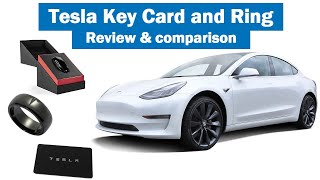 Tesla Key Card and Ring - Review & Comparison