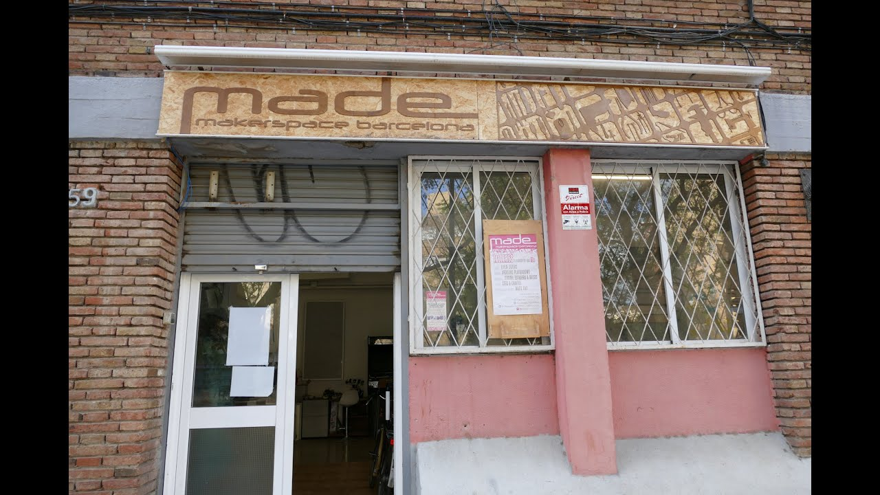 Tour: MADE Makerspace in Barcelona, Spain
