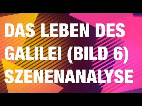 Brecht: Das Leben des Galilei - Szenenanalyse 6. Bild
