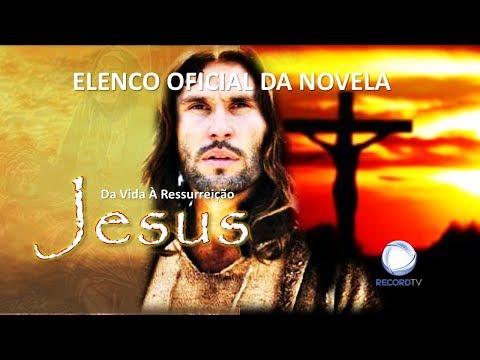 Jesus - Conheça o Elenco da Novela da Record TV (Oficial).