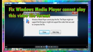 how to fix windows media player cannot play the file (100% solved)