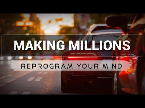 Making Millions affirmations mp3 music audio - Law of attraction - Hypnosis - Subliminal Mp3