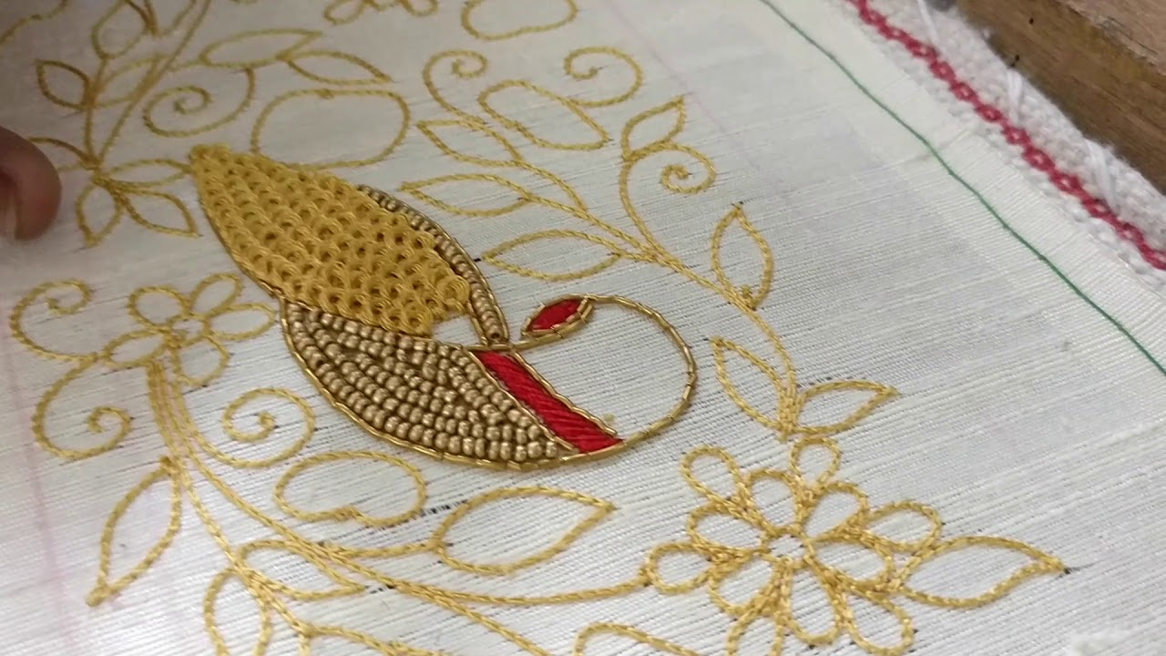 Kerala Special Embroidery Designs Youtube